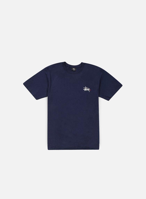 Stussy - Basic Logo T-shirt, Navy