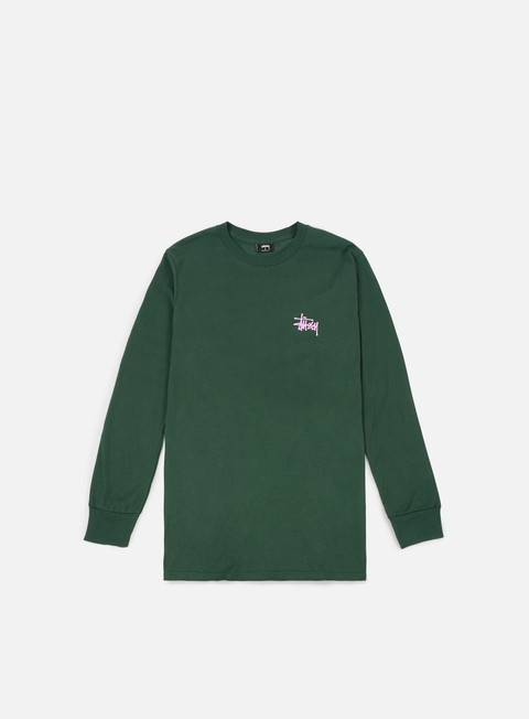 Sale Outlet Long Sleeve T-shirts Stussy Basic Stussy LS T-shirt