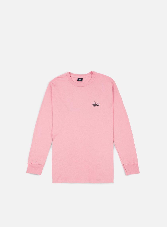 stussy t shirt uomo rosa