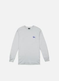 Stussy - Basic Stussy LS T-shirt, Fog/Purple