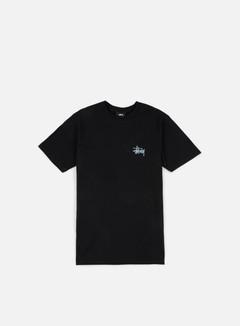 Stussy - Basic Stussy T-shirt, Black/Light Blue