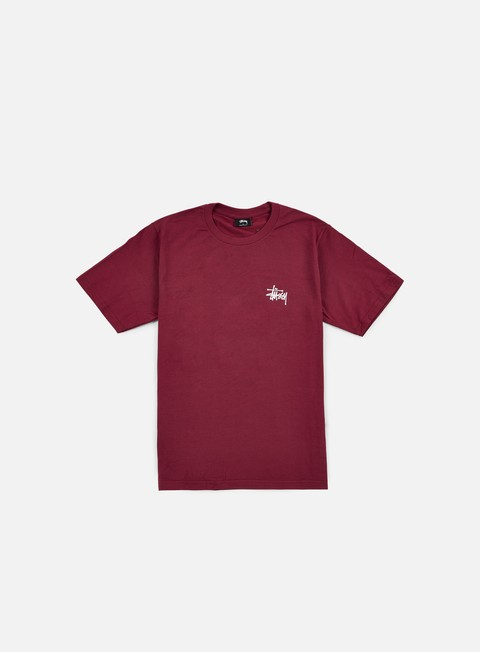 t shirt stussy basic stussy t shirt grape