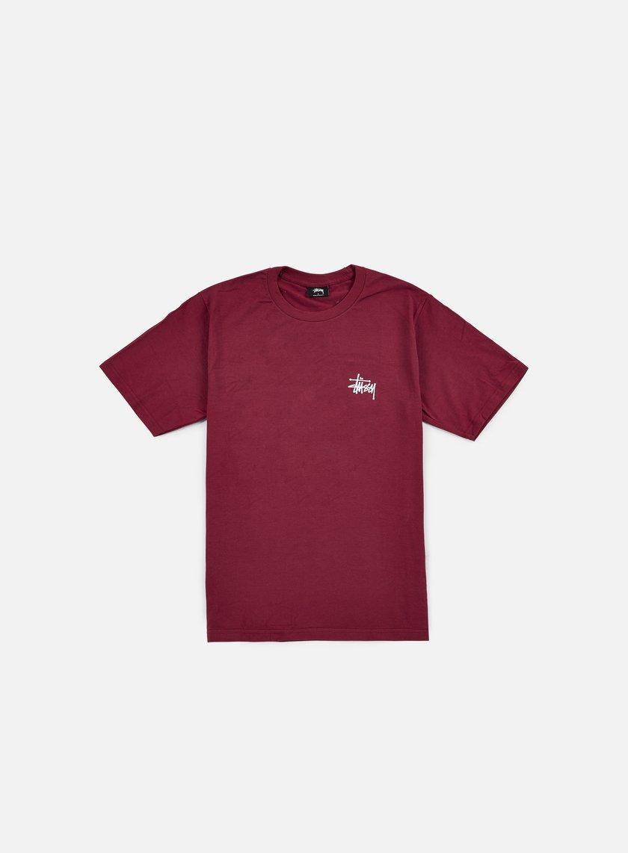 Stussy - Basic Stussy T-shirt, Grape