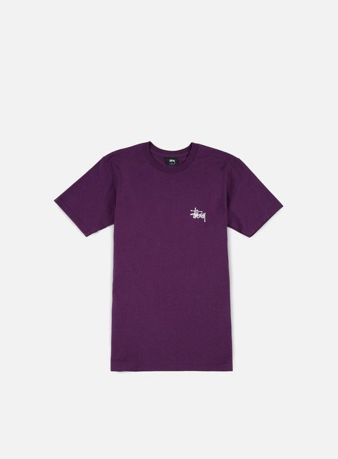 t shirt stussy basic stussy t shirt grape white