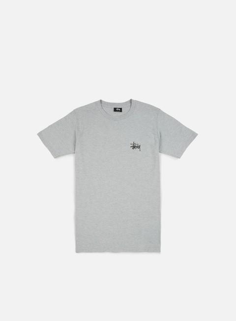 Outlet e Saldi T-shirt a Manica Corta Stussy Basic Stussy T-shirt