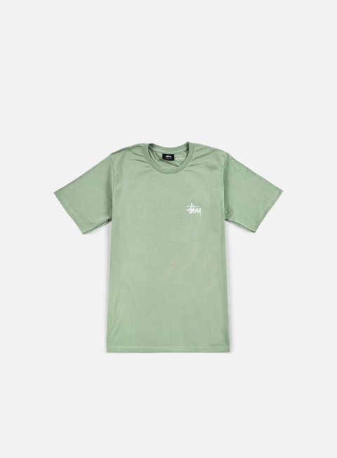 t shirt stussy basic stussy t shirt moss