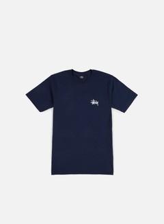 Stussy - Basic Stussy T-shirt, Navy