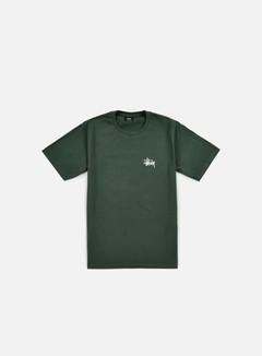 Stussy - Basic Stussy T-shirt, Pine
