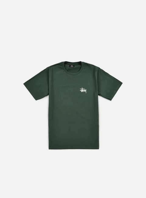 t shirt stussy basic stussy t shirt pine