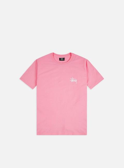 T-shirt a Manica Corta Stussy Basic Stussy T-shirt