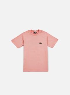 Stussy - Basic Stussy T-shirt, Rose