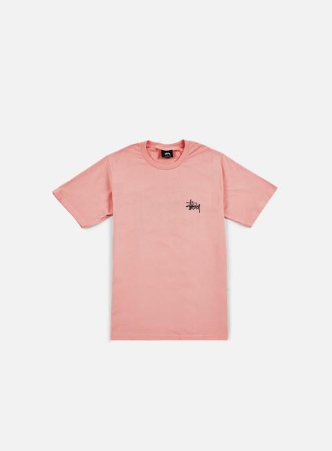 t shirt stussy basic stussy t shirt rose