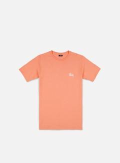 Stussy - Basic Stussy T-shirt, Salmon