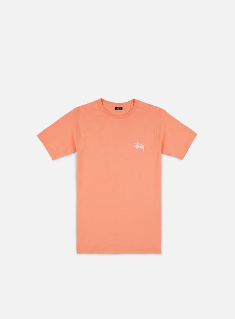 t shirt stussy basic stussy t shirt salmon