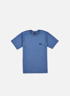 Stussy - Basic Stussy T-shirt, Steel 1