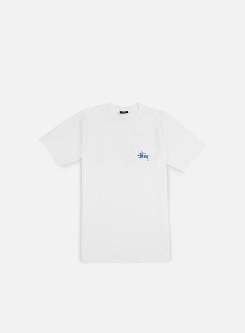 t shirt stussy basic stussy t shirt white