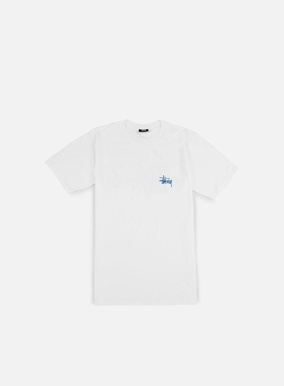 Stussy - Basic Stussy T-shirt, White
