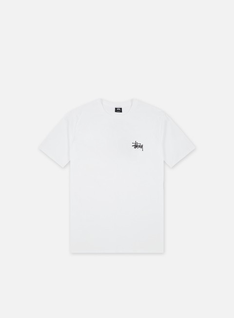 t shirt stussy basic stussy t shirt white black