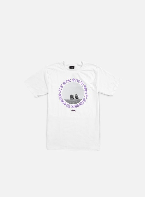 t shirt stussy beach buddies t shirt white