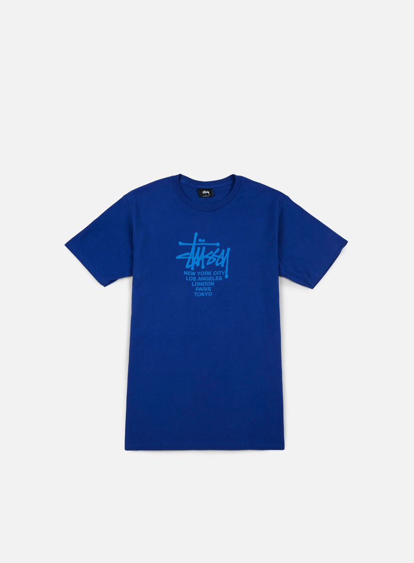 Stussy - Big Cities T-shirt, Dark Blue
