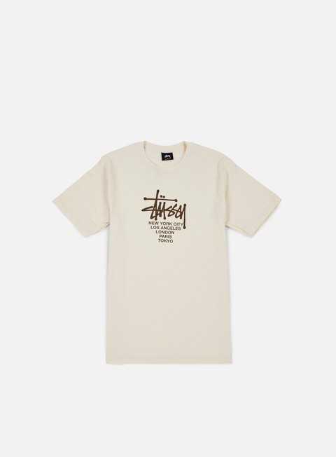 t shirt stussy big cities t shirt natural