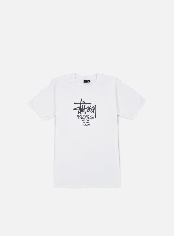 Stussy - Big Cities T-shirt, White