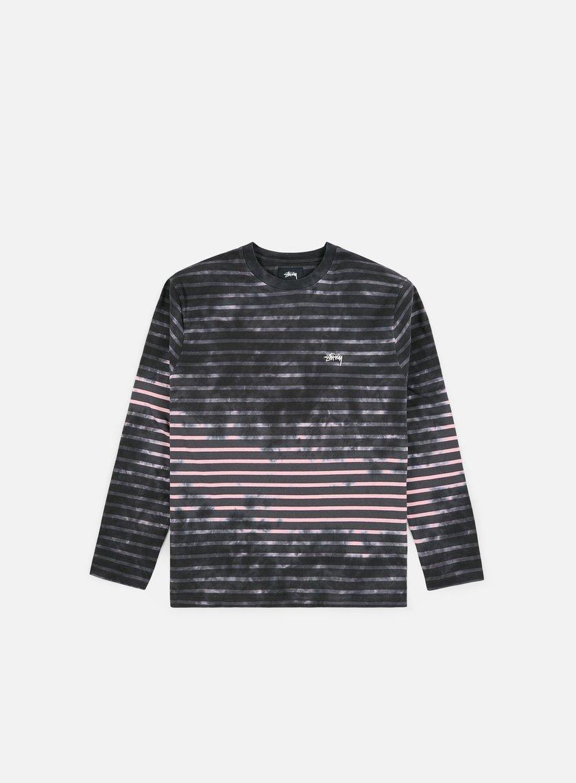 Stussy Bleach Stripe Crew LS T-shirt
