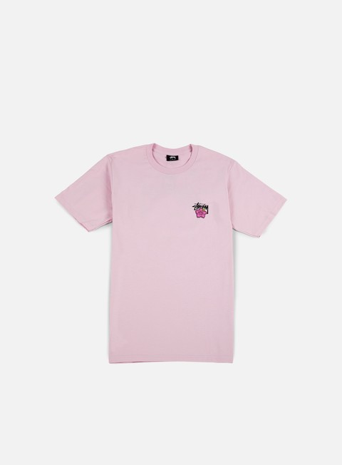t shirt stussy cali rose t shirt light lavender