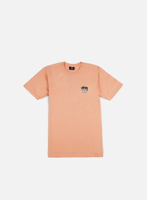 t shirt stussy cali rose t shirt salmon