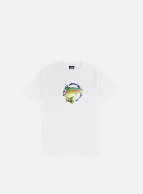 Outlet e Saldi T-shirt a Manica Corta Stussy Catch & Release T-shirt