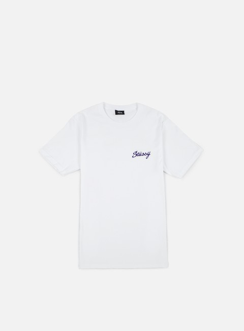 t shirt stussy champion t shirt white