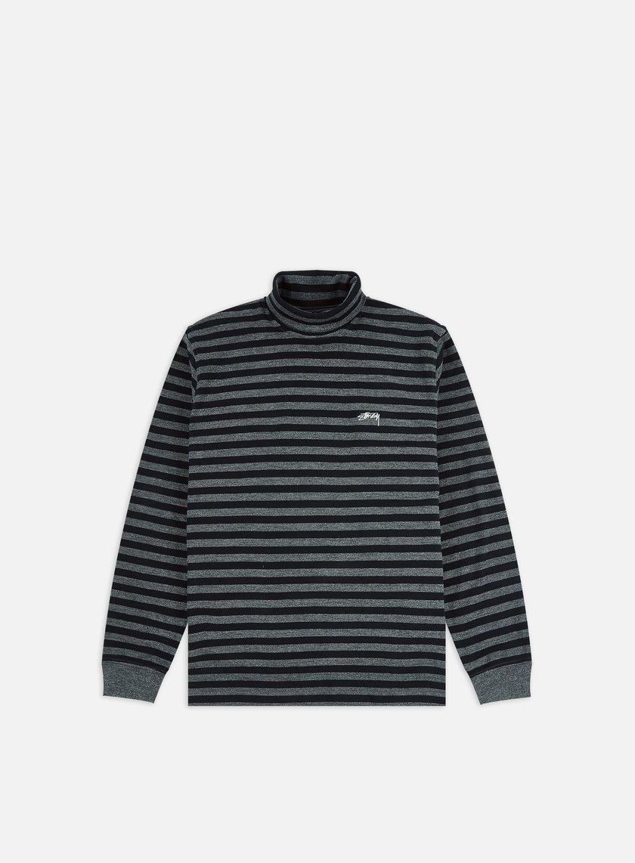 Stussy Classic Stripe Turtleneck LS T-shirt