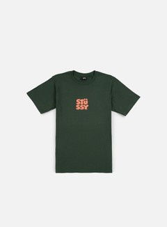 Stussy - Compact T-shirt, Pine