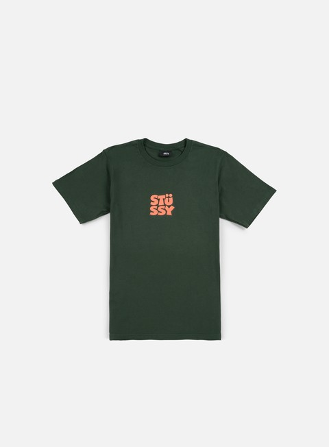 t shirt stussy compact t shirt pine