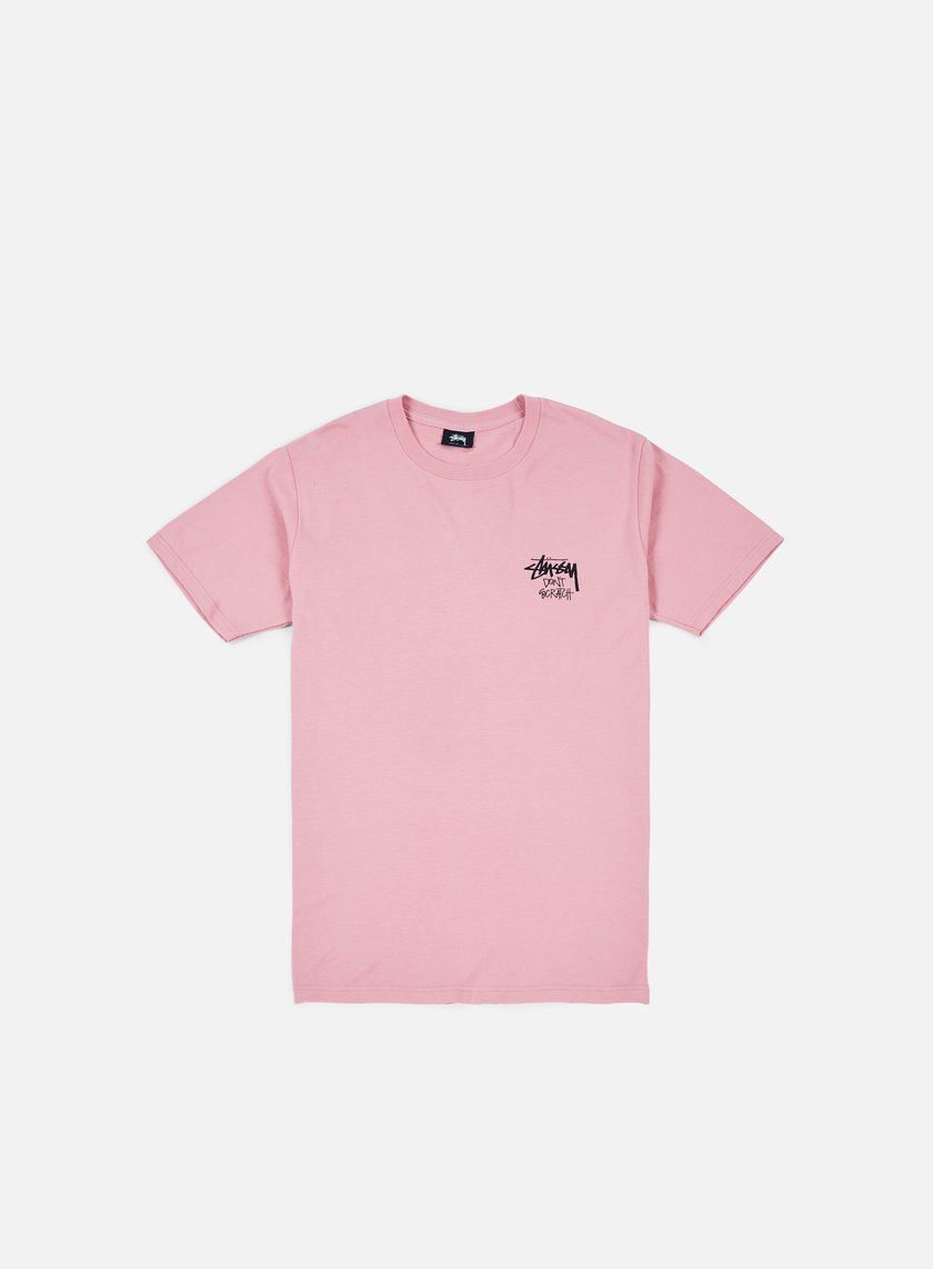 Stussy - Don't Scratch T-shirt, Dusty Rose