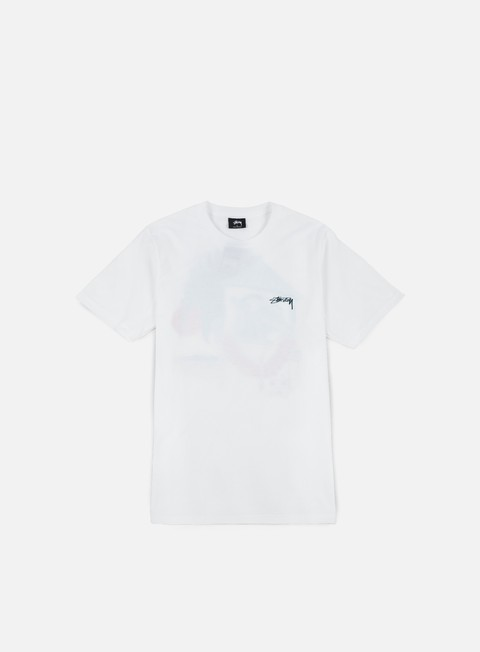 t shirt stussy downtown t shirt white