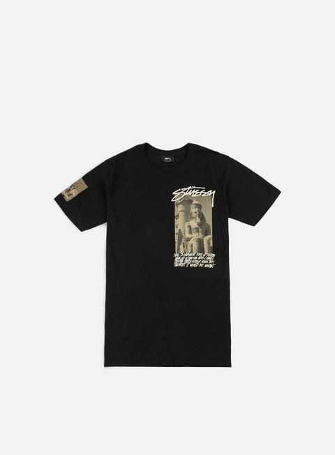t shirt stussy emperor t shirt black