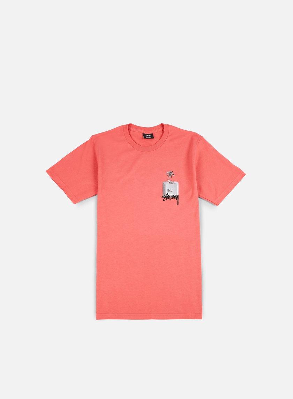 Stussy - Esc T-shirt, Dark Pink