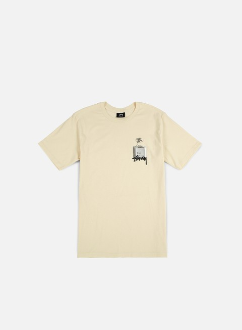t shirt stussy esc t shirt natural