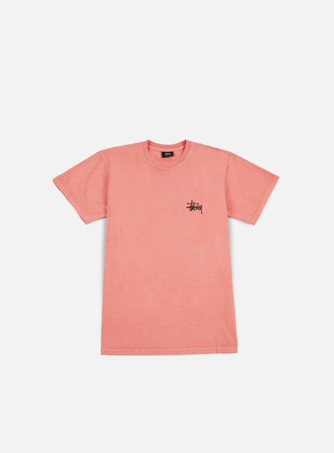 t shirt stussy fire dragon pigment dyed t shirt pink