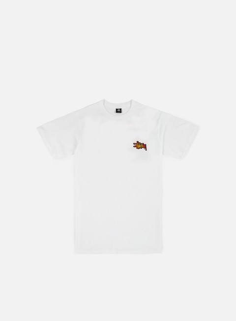 t shirt stussy fireball t shirt white