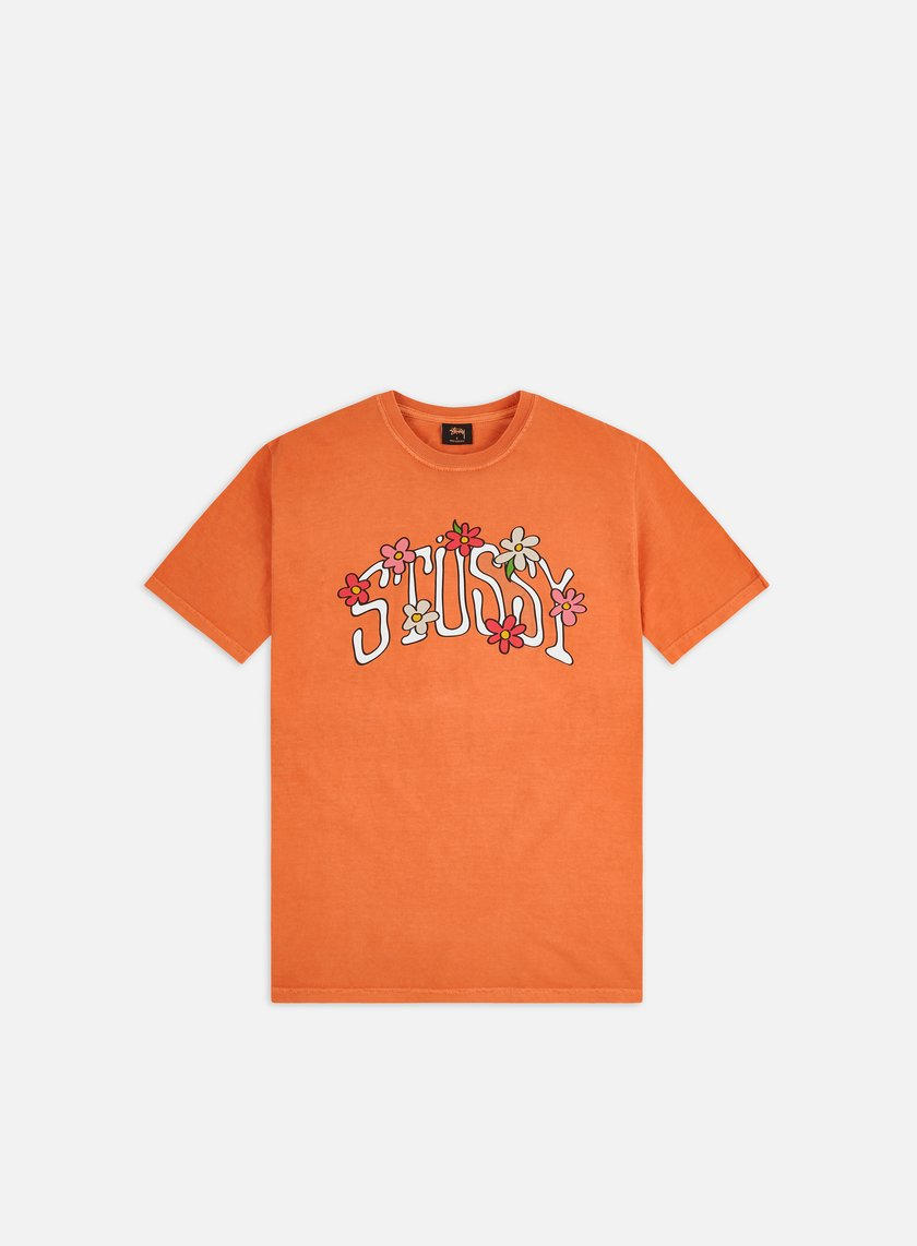 Stussy Flower Collegiate Pigment Dyed T-shirt