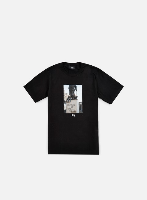 t shirt stussy for the masses t shirt black