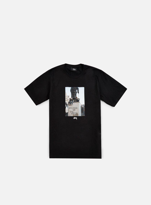 Stussy - For The Masses T-shirt, Black