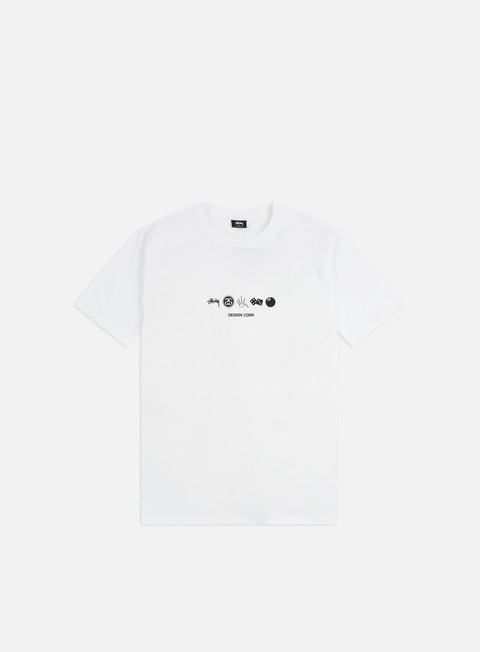 T-shirt a Manica Corta Stussy Global Design Corp. T-shirt