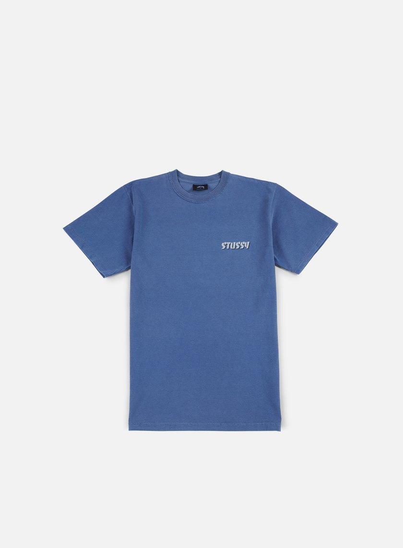 Stussy - Global Pigment Dyed T-shirt, Indigo