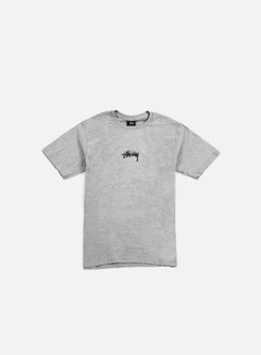 Stussy - HD Logo T-shirt, Grey Heather 1
