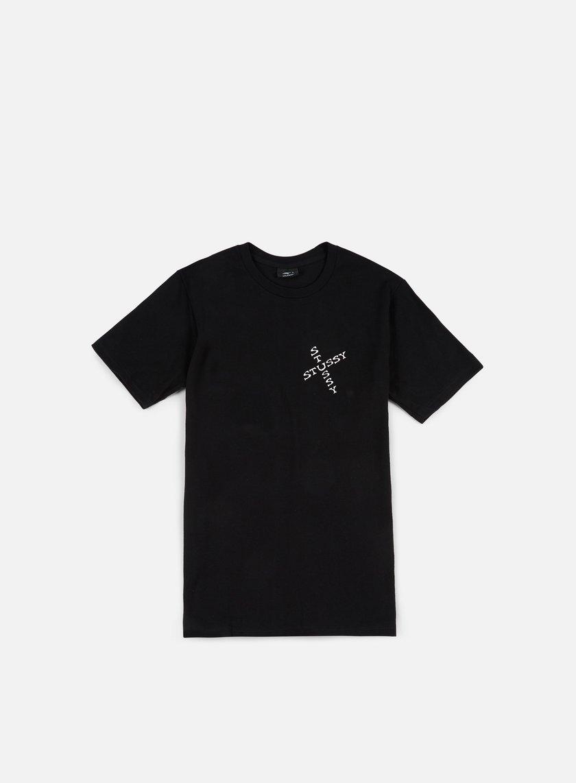 Stussy - Hippie Skull T-shirt, Black