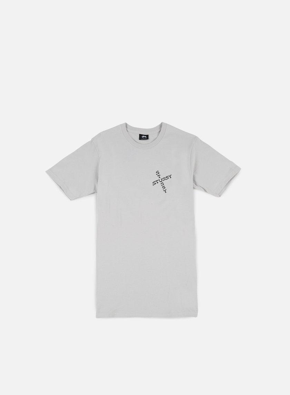 Stussy - Hippie Skull T-shirt, Fog