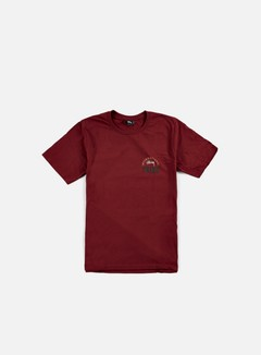 Stussy - IST Stamp T-shirt, Dark Red